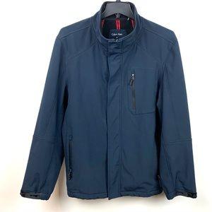 Calvin Klein Mens Navy Classy Nylon Jacket XL